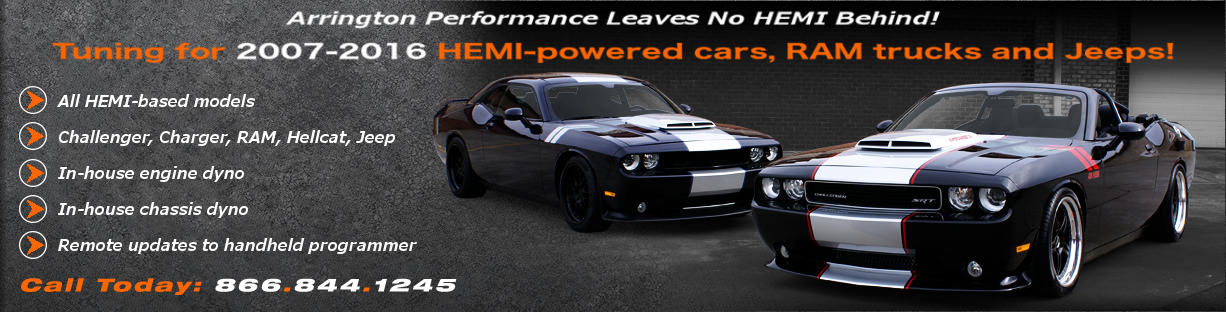 Arrington Performance Has Complete 2006 - 2015 Challenger Tuning!